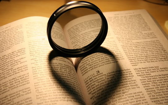 Bible + filtre