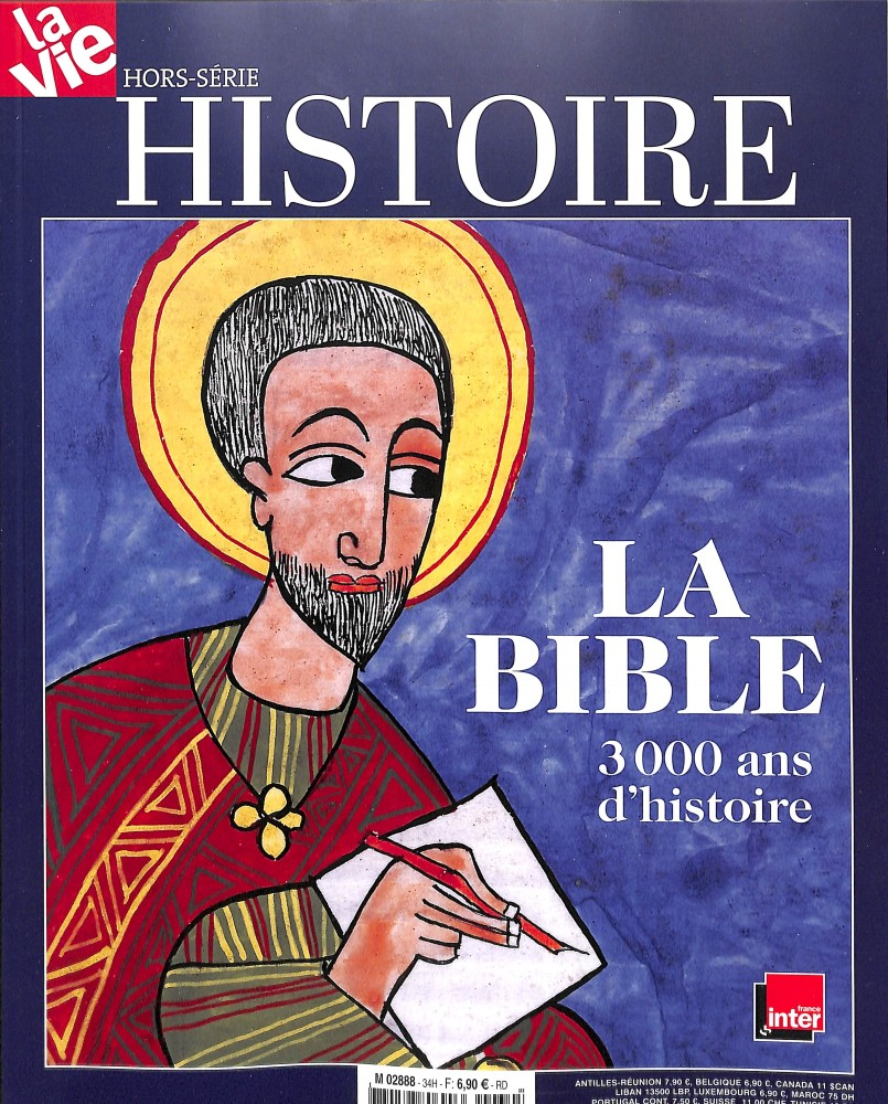 La Vie hors-série n° 34, La Bible 3000 ans d'histoire, 22 novembre 2018