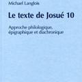 Le texte de Josué 10 - Langlois - OBO 252