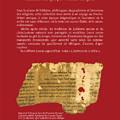 L'écriture de la Bible