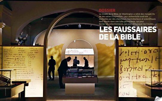 thumbnail of Les faussaires de la Bible, La Vie, 6 décembre 2018, p. 29-32