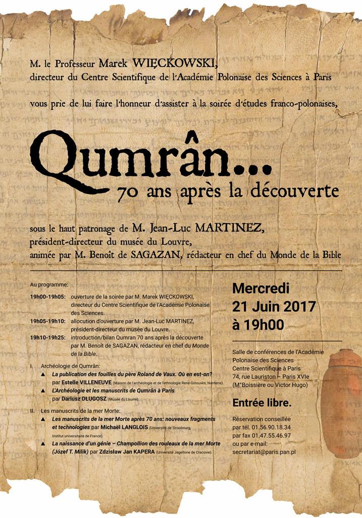 thumbnail of Qumrân 70 ans après la découverte
