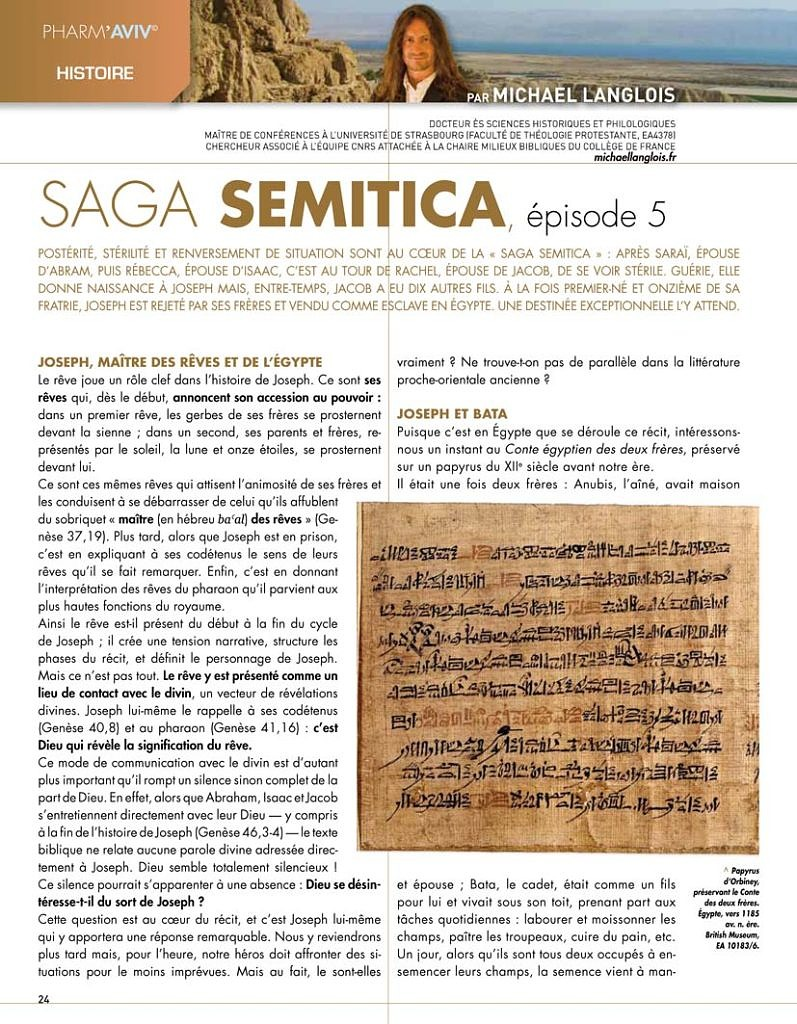 Saga semitica épisode 5