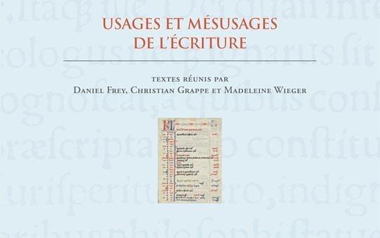 Usages et mésusages de l'Écriture